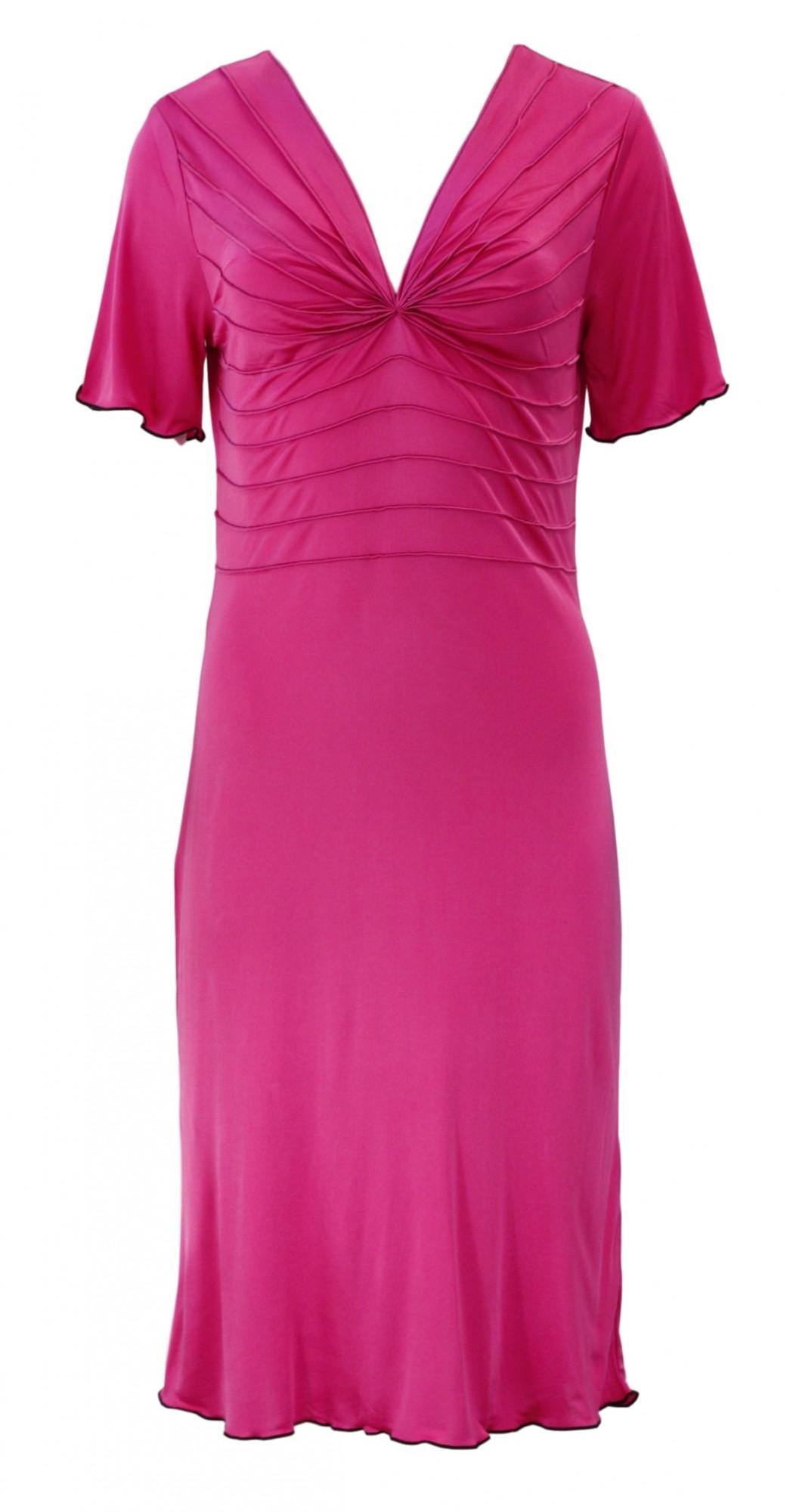 Dámská noční košile 81071 - Gattina Barva: černá, Velikost: L