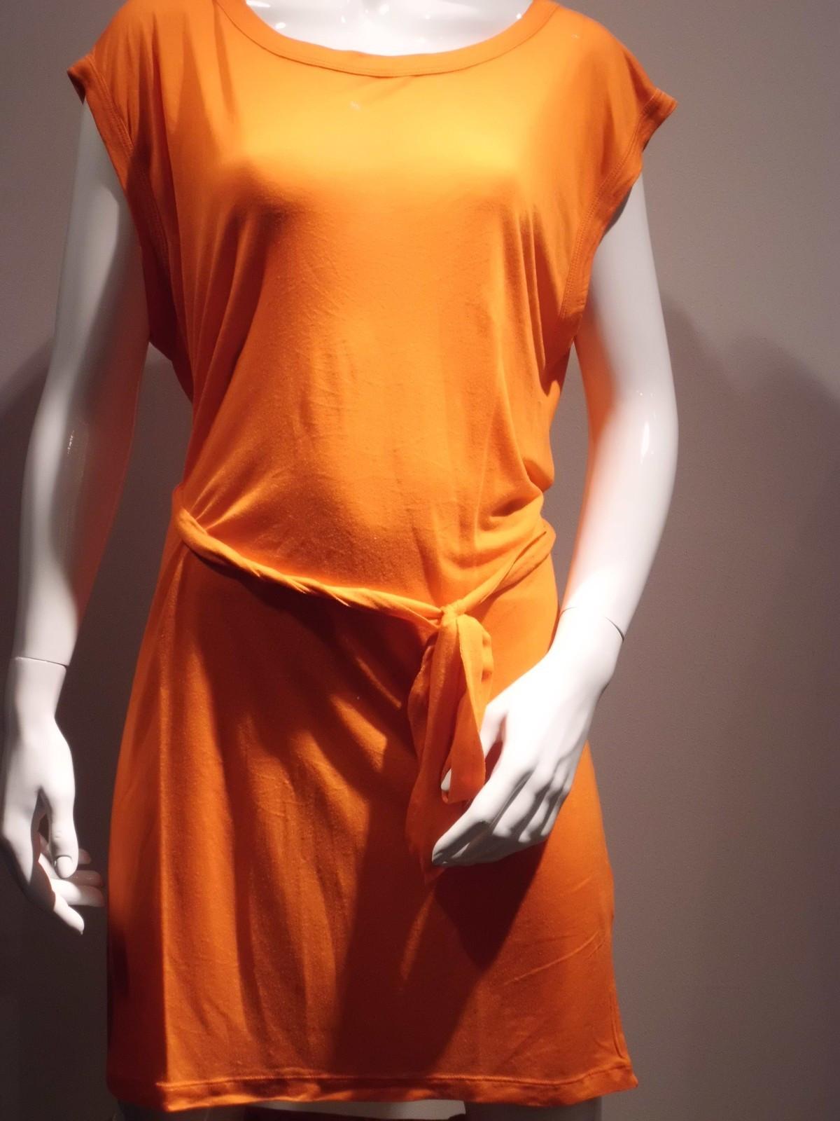 Dámské šaty 21Q669 - Rich Royal barva: oranžová, velikost: M