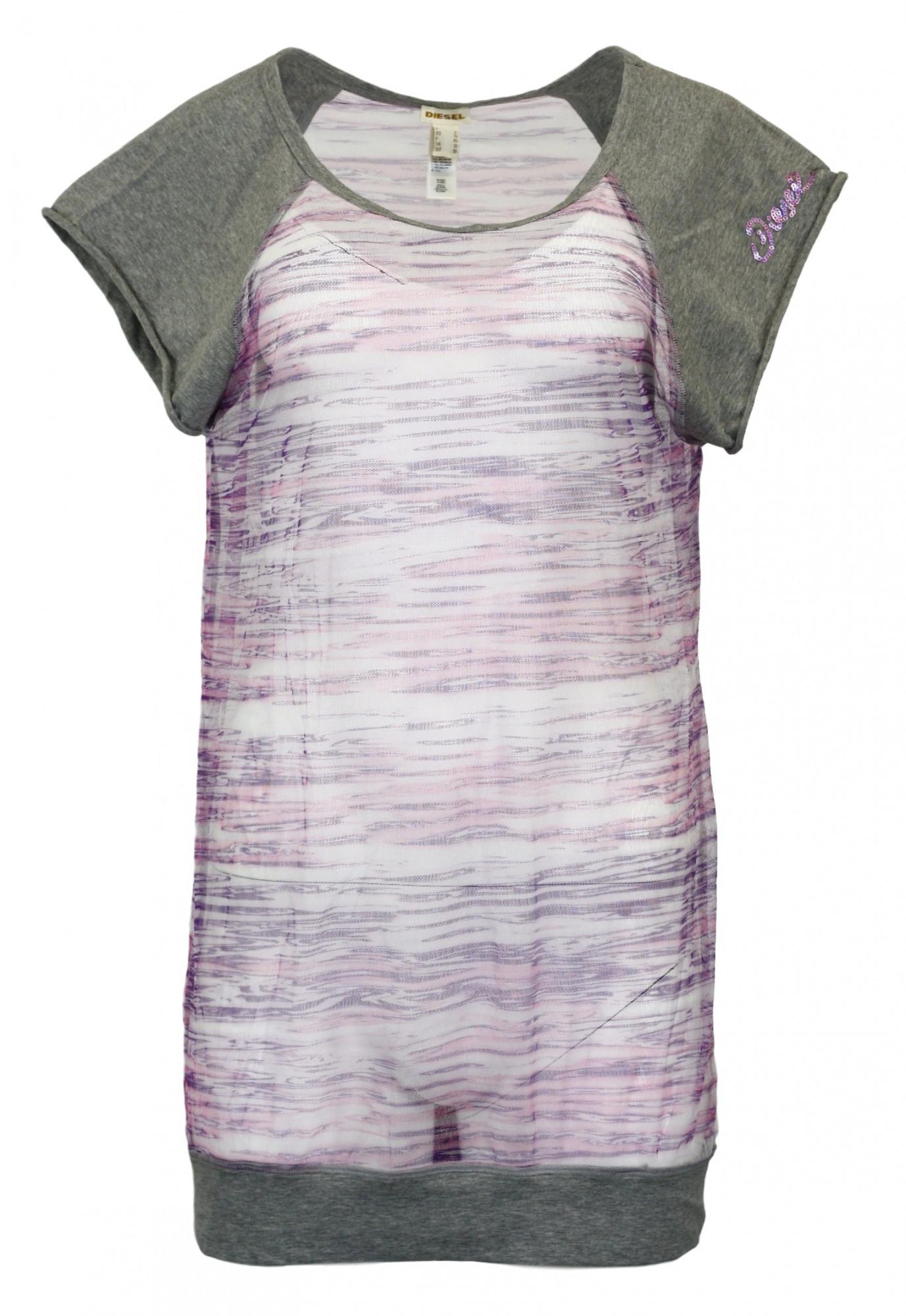 Dámské tričko BM00452 - Diesel Barva: fialová, Velikost: M