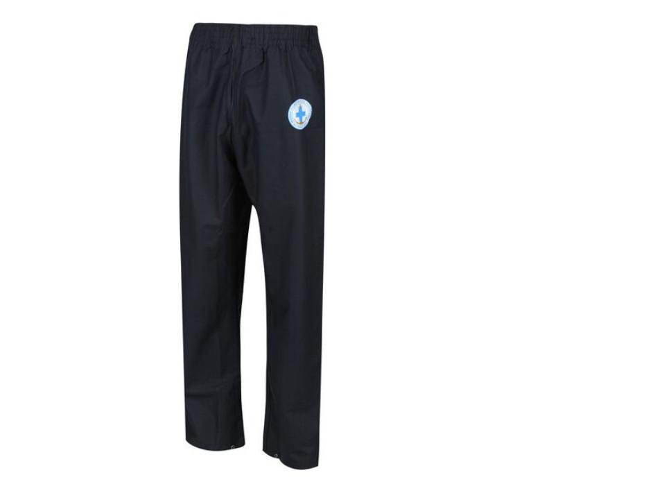Pánské kalhoty do deště SBRMW016 StormflexJkt WOPR - Regatta tmavě modrá XXXL