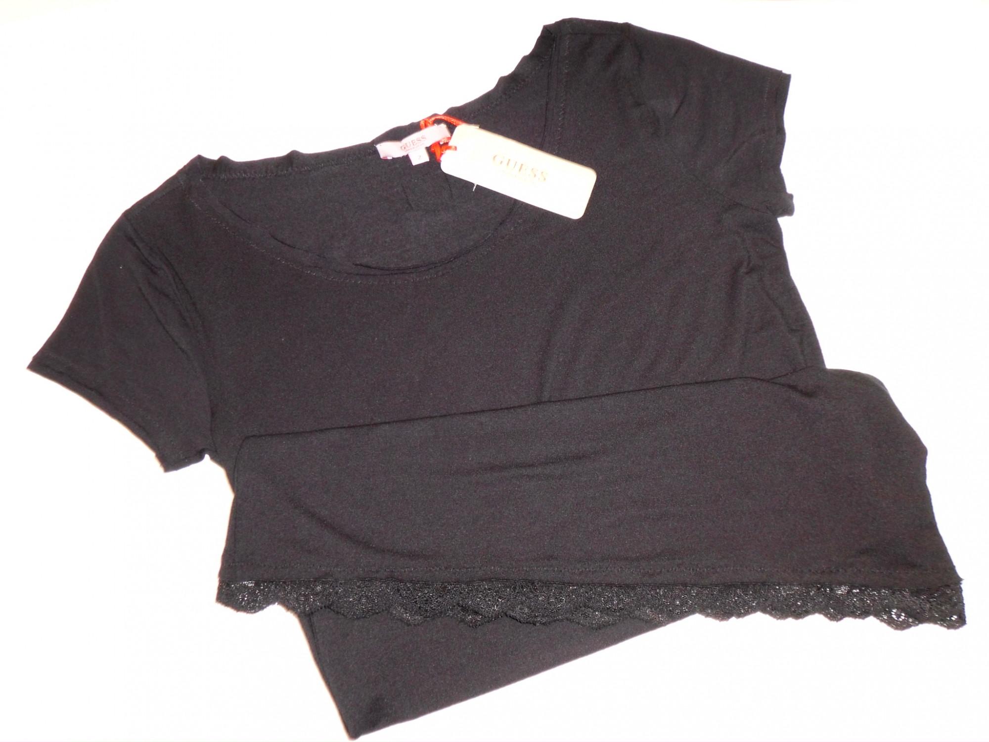 Dámské triko UG6D29 - Guess barva: černá, velikost: M