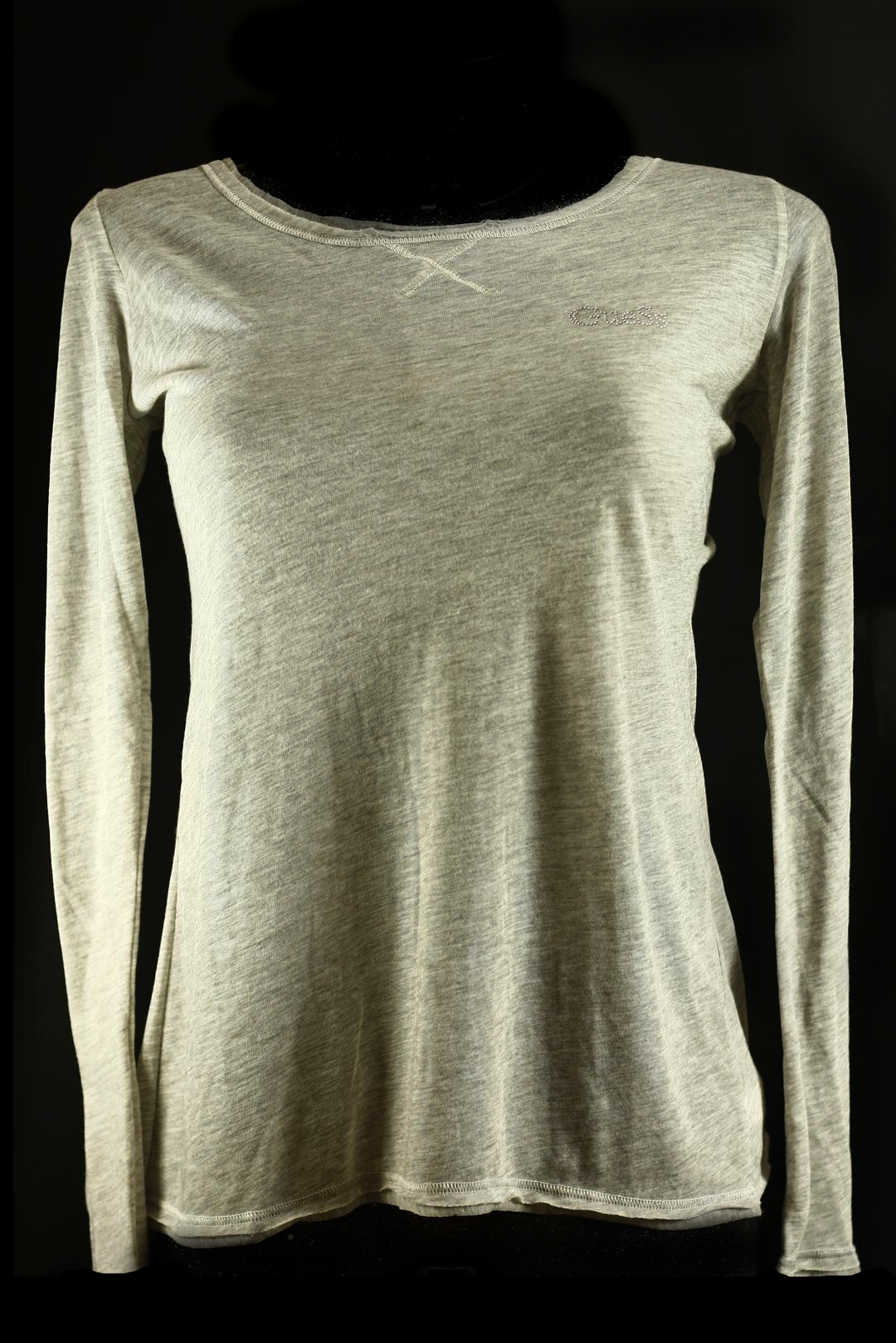 Dámské triko UC6D2B - Guess Barva: šedá, Velikost: L