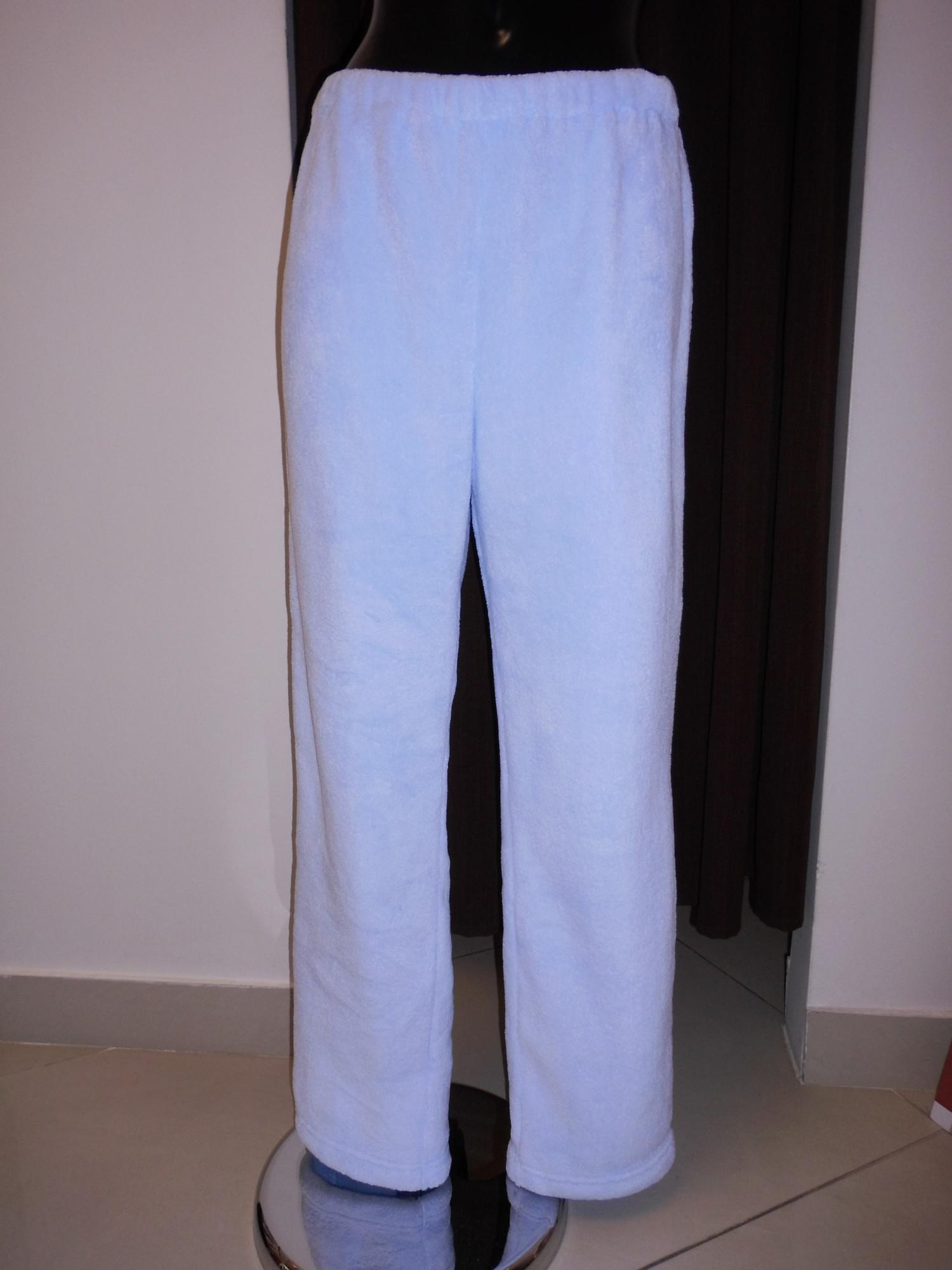 Dámské domácí kalhoty s výšivkou 6930 5251 - Vestis světle modrá S