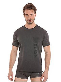Pánské triko UC6U29-JER25 - Guess barva: modrá, velikost: L