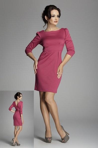 Dámské šaty 82 - Figl Barva: černá, Velikost: 42