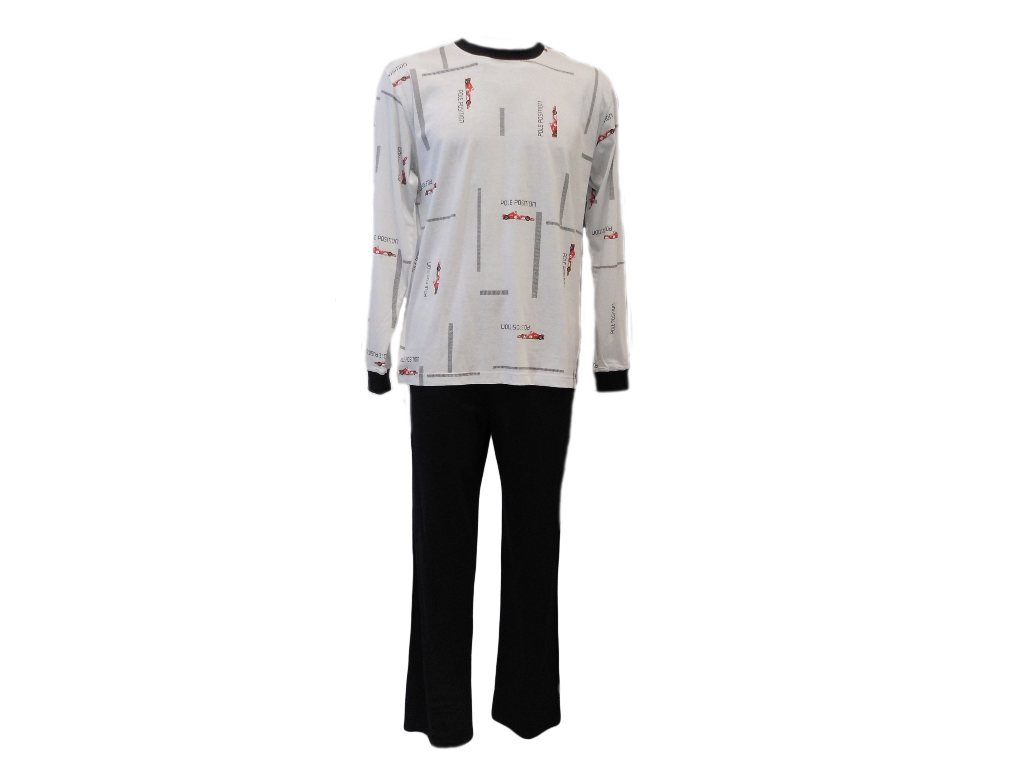 Pánské pyžamo Lu Saly 4 Dr - Favab Barva: bílá, Velikost: L