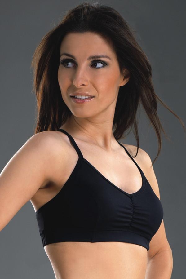 Sportovní podprsenka Amera - Gwinner barva: černá, velikost: L
