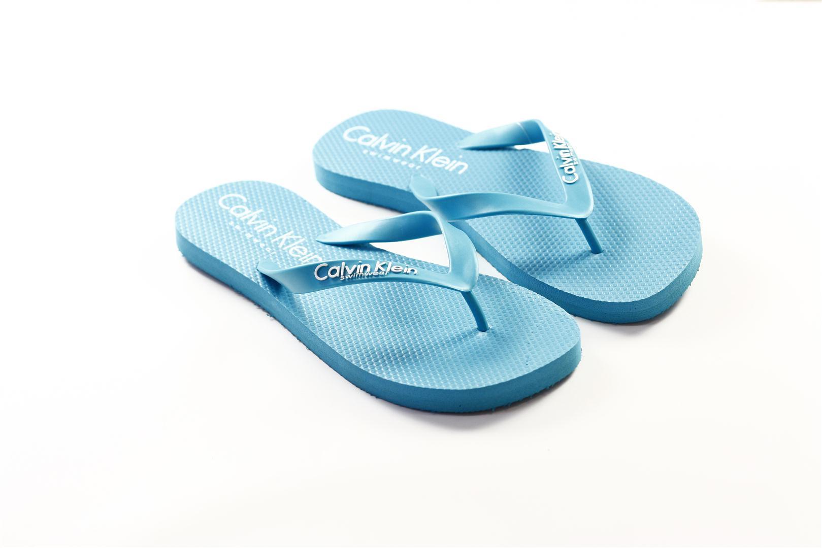 Pánská plážová obuv 58261Z3 - Calvin Klein Barva: zelená, Velikost: M