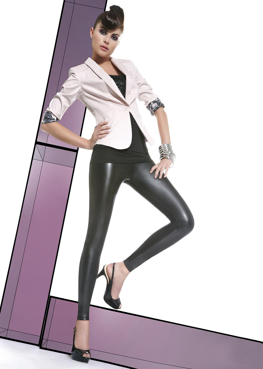 Legíny Elen - Bas Bleu barva: černá, velikost: S