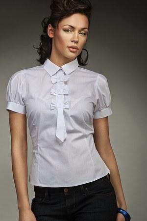 Dámská košile Nife K27 Barva: bílá, Velikost: 42