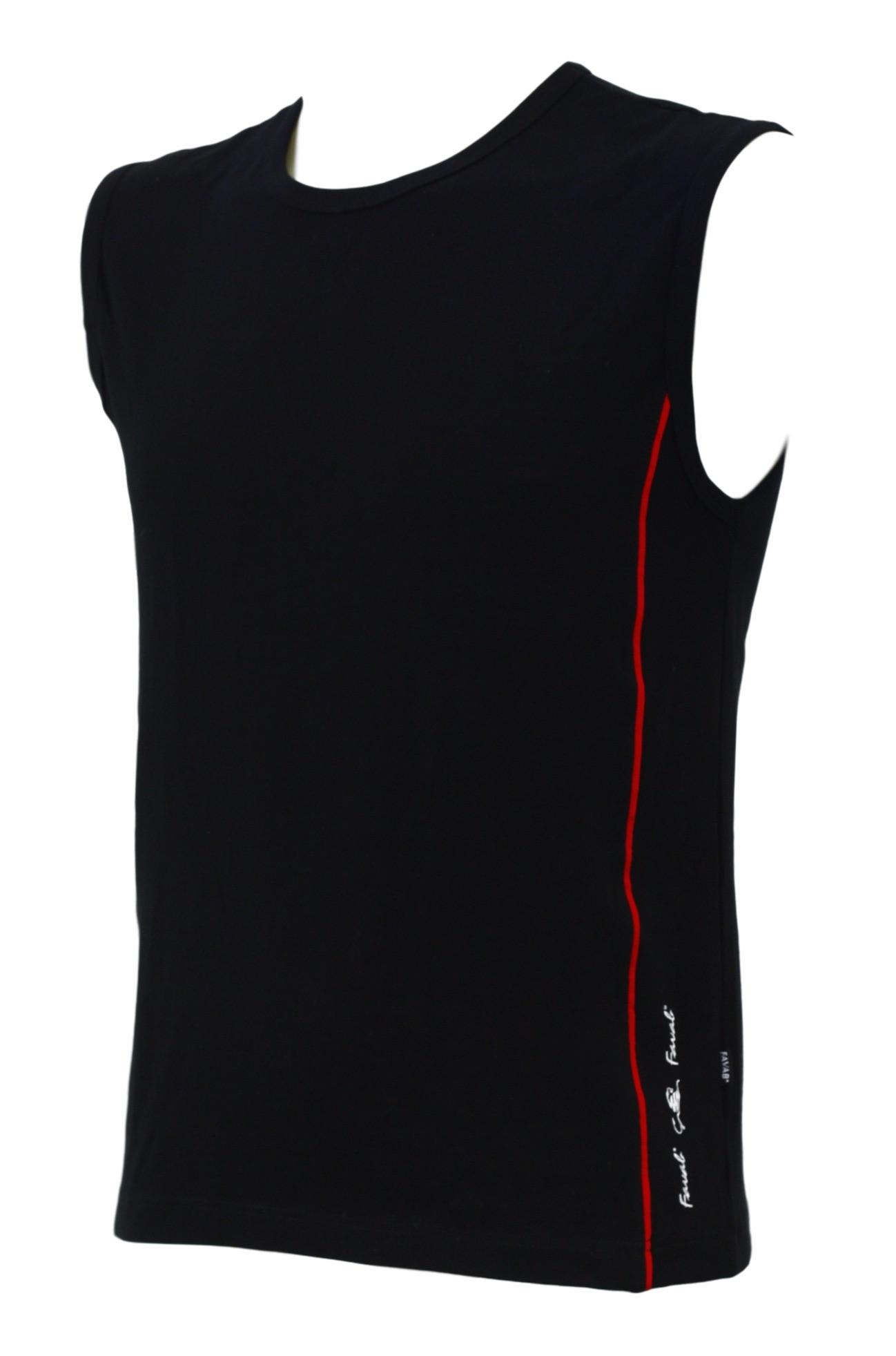 Pánské tričko Dep - Favab bez rukávu Barva: černá, Velikost: M