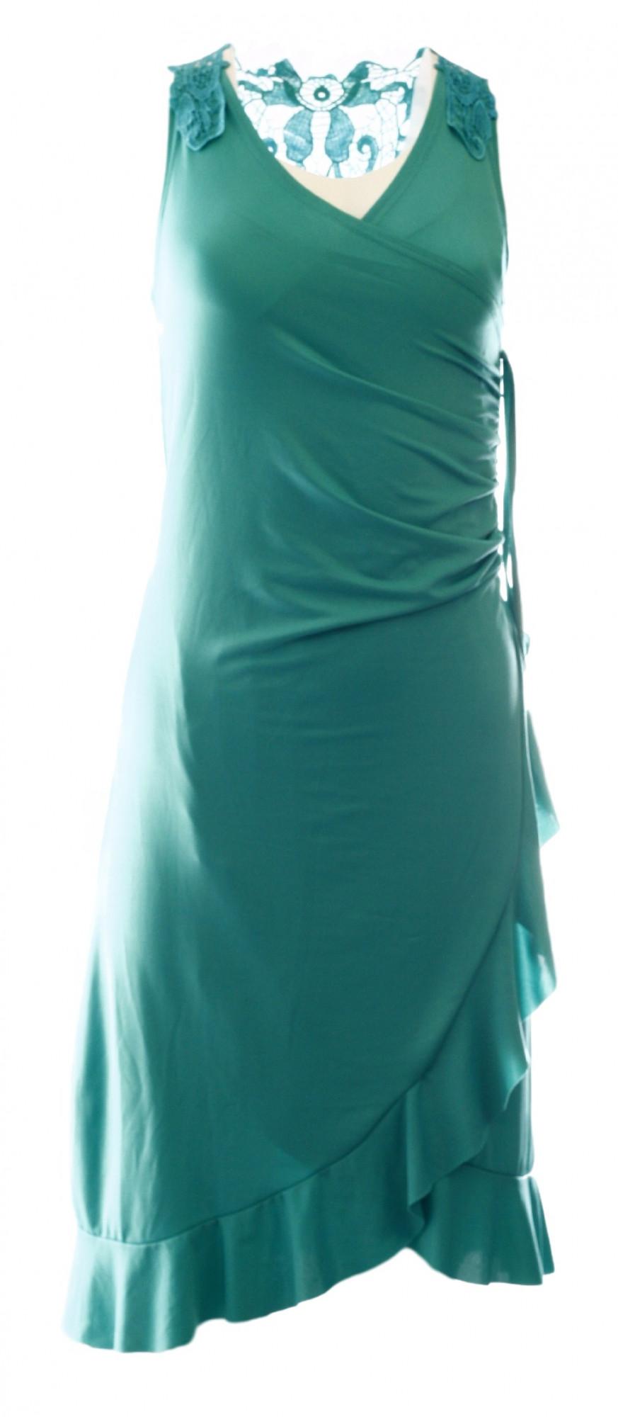 Dámské šaty - Gemini Barva: zelená, Velikost: S