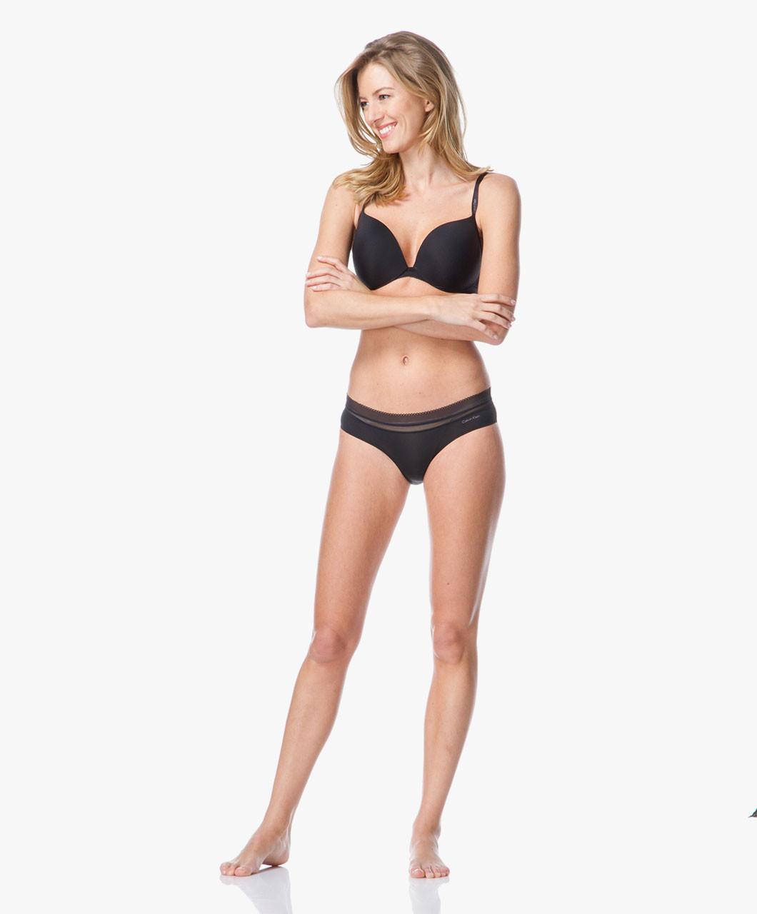 Push-up podprsenka Icon F3647E - Calvin Klein Barva: černá, Velikost: 75D