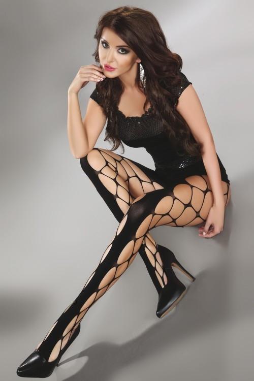 Punčochové kalhoty Jeanne - Livia Corsetti Barva: černá, Velikost: S/L