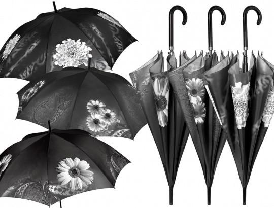 Dámský deštník 21158 - Perletti Barva: šedá