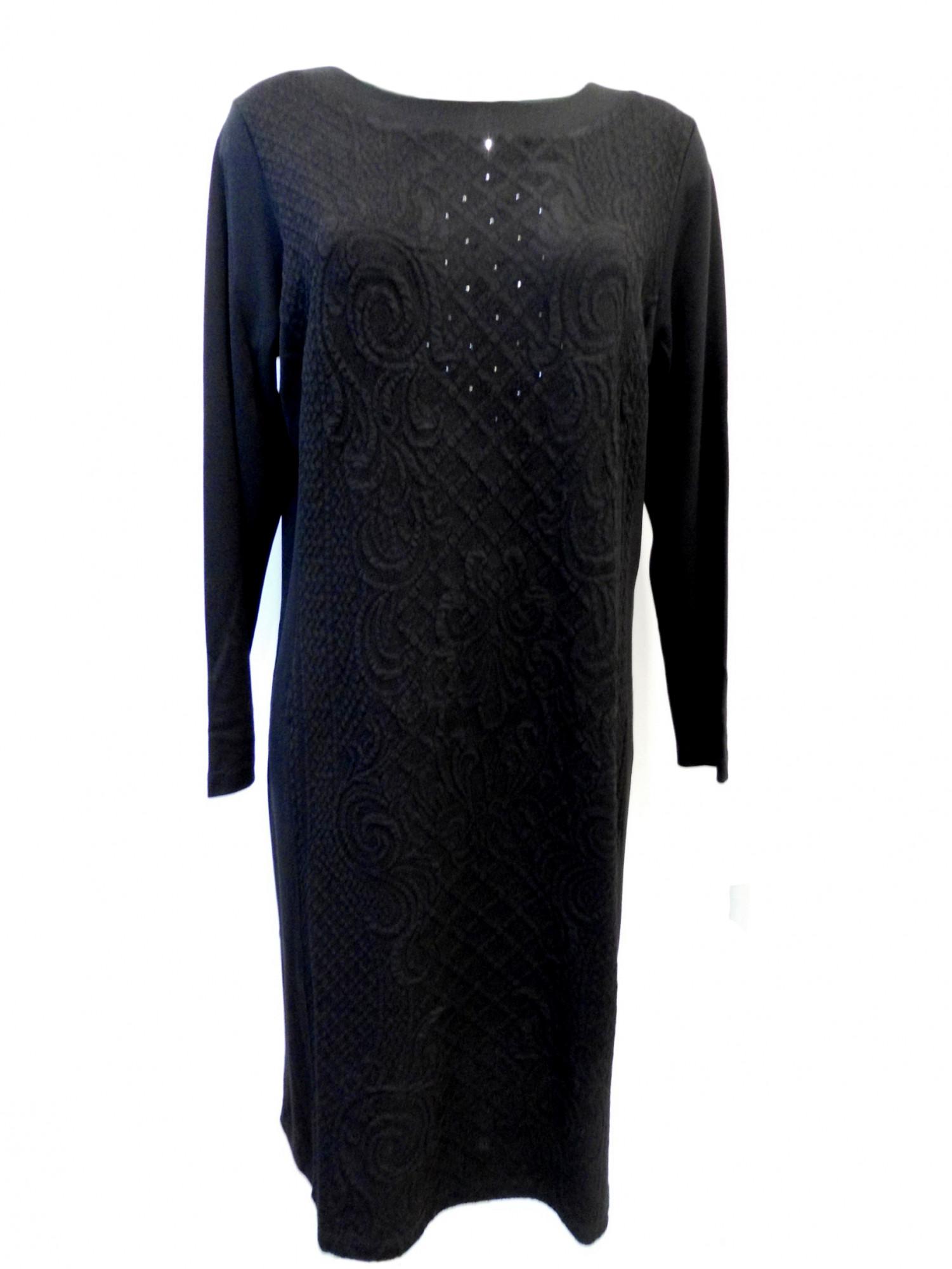 Dámské šaty VAF DR - Favab Barva: černá, Velikost: XL
