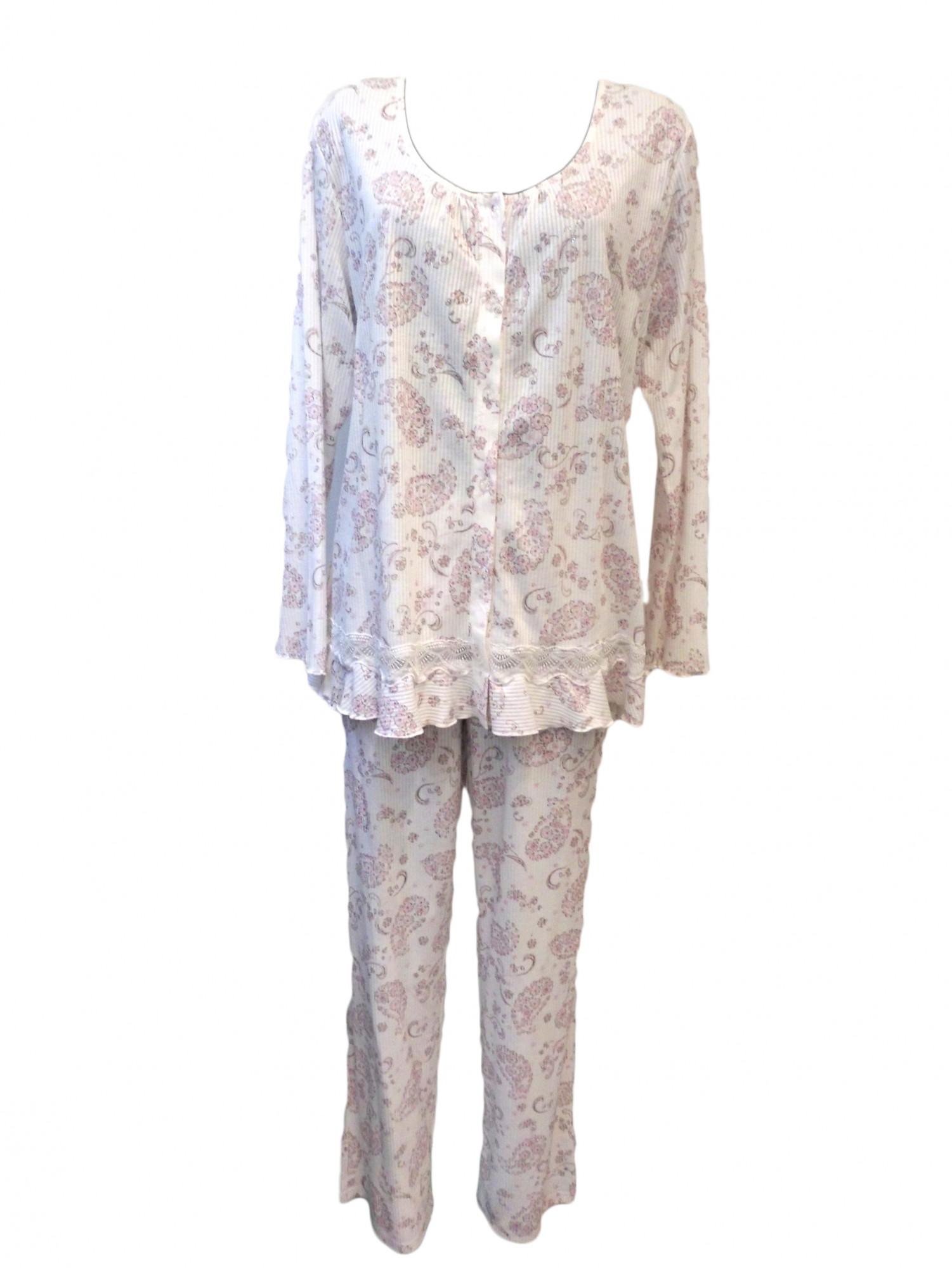 Dámské pyžamo 1470 - Vamp Barva: růžová, Velikost: XXXL