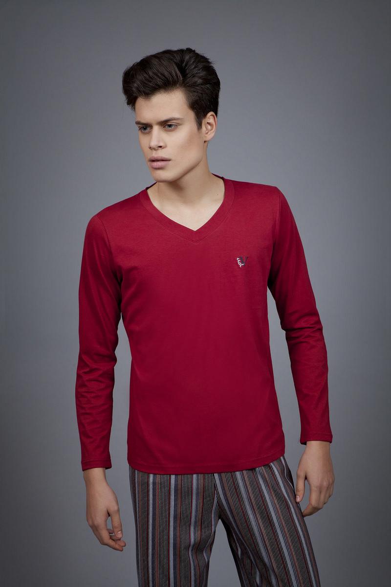 Pánské pyžamo 1707 - Vamp Barva: červená, Velikost: XXXL