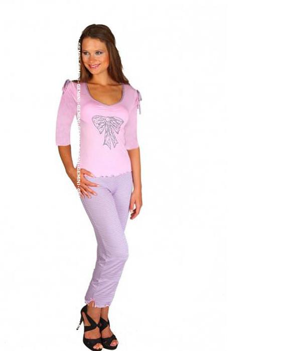 Dámské pyžamo 575 YPJ Cocoon Secret Barva: růžová, Velikost: XL