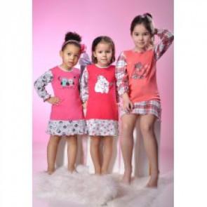 Dětská noční košilka 448 Taro - Gemini Barva: růžová, Velikost: 122
