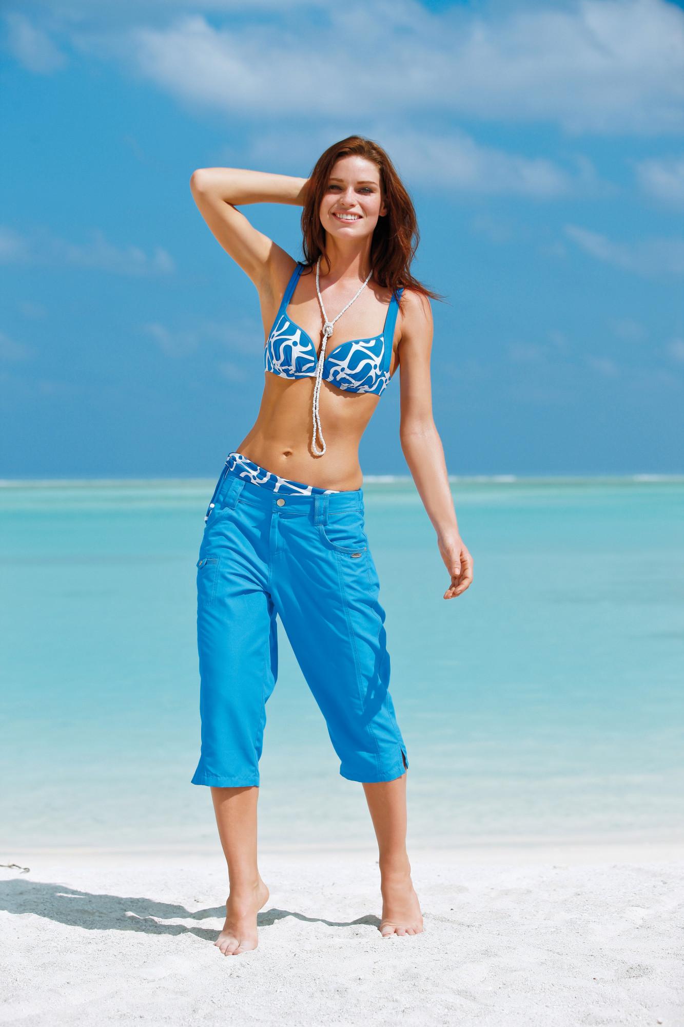 Dámské dvoudílné plavky 21214 - Sunflair Barva: modrá, Velikost: 42D