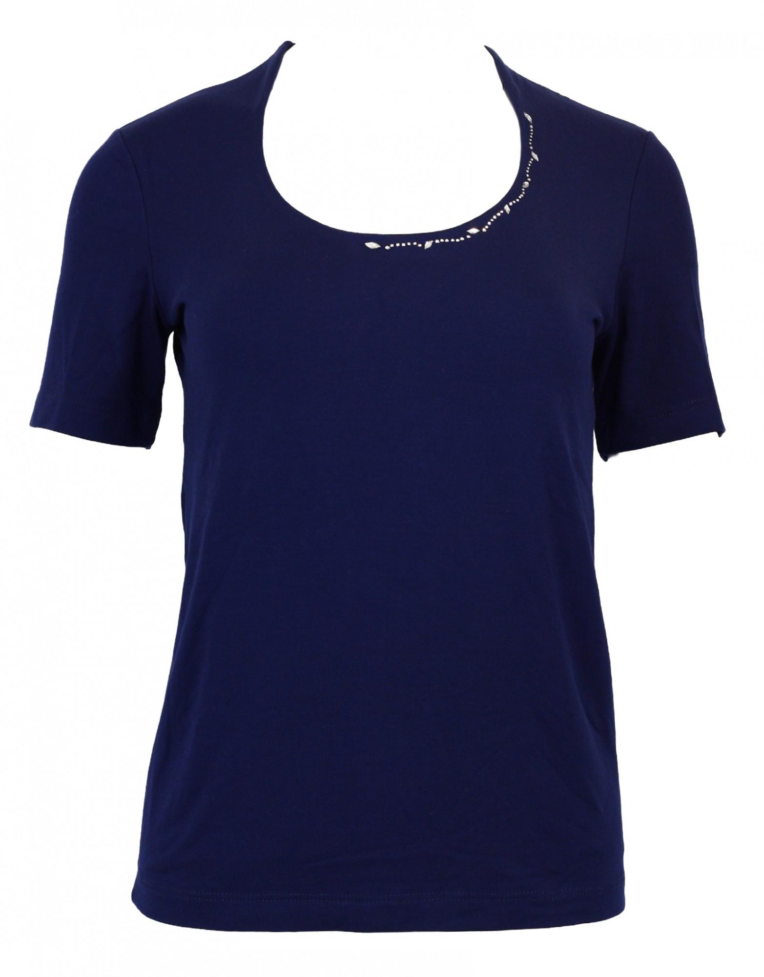Dámské tričko Liw KR - Favab Barva: modrá, Velikost: M
