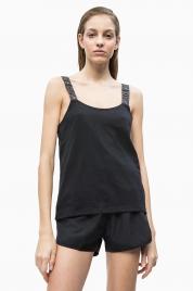 Dámské tílko KW0KW00691-094 černá - Calvin Klein