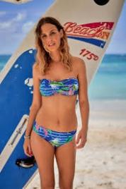 Vrchní díl dámských plavek Sibel Top 8737-1-335 vícebarevná - Anita