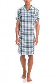 Pánská noční košile 12724-253 modrobílá - Vamp