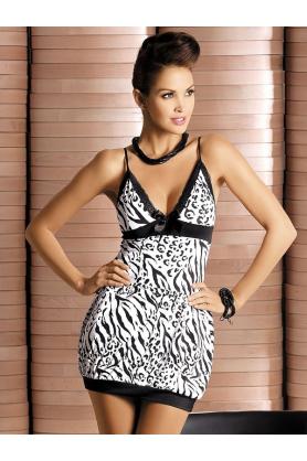 Košilka Obsessive Zebra chemise