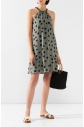 Dámské šaty M3006-407 zelenočerná - Maryn Mehlhorn