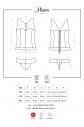 Korzet Miamor corset - Obsessive