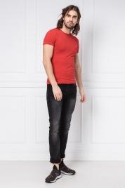 Pánské tričko 111035 9P725 červená - Emporio Armani