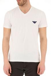 Pánské tričko 111556 9P525 bílá - Emporio Armani