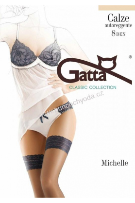 Samodržící punčochy Michelle 04 - Gatta