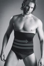 Stahující pánský pás Body Perfekt - Mitex