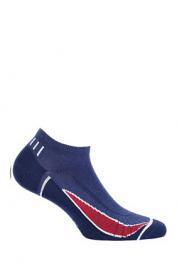 Pánské kotníkové ponožky W91.1N3 Ag+ vzor -  Wola Sportive