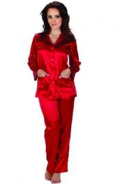Dámské saténové pyžamo Classic 934 - De Lafense