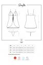 Košilka Greylita babydoll XXL - Obsessive