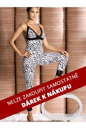 DÁREK Souprava Zebra top + pants - Obsessive