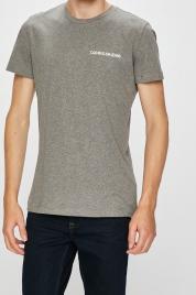 Pánské tričko OU43 šedá - Calvin Klein