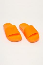 Plážové pantofle E02Z13BB00S-ORFU neonově oranžová - Guess