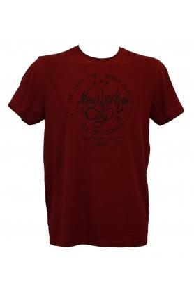 Pánské tričko 547001H - vínová - Jockey