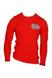 Pánské pyžamové tričko 714754014003 červená - Ralph Lauren