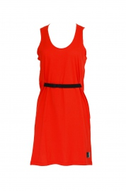 Plážové šaty KW0KW00864-XA7 červená - Calvin Klein