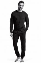 Pánské pyžamo 111794 CC570 00020 černá - Emporio Armani