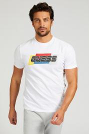 Pánské tričko U1GA32J1311 - TWHT bílá - Guess