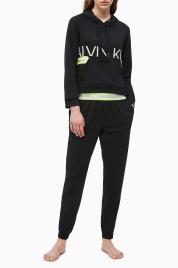 Dámské tepláky QS6342E-001 černá - Calvin Klein