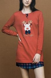Dámská noční košile LA2010PB - Noidinotte