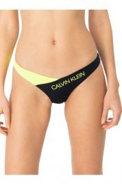 Vrchní díl plavek KW0KW00885 ZAA Calvin Klein černo-žlutá L
